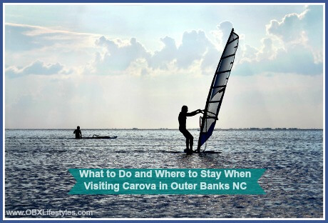 OBREC Carova Outer Banks what to do and where to stay - wind surfing