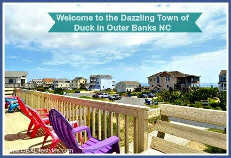 OBREC Duck Outer Banks welcome to the dazzling town - deck