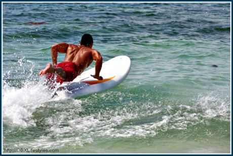 OBREC Southern Shores beach rules - surfing