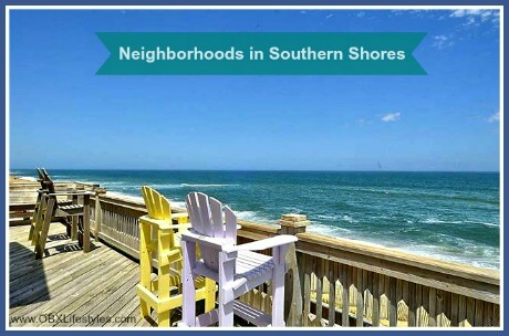 OBREC Southern Shores neighborhoods - oceanfront